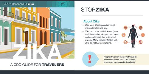 CDC Zika Travel Brochure