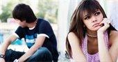 Teen couple upset