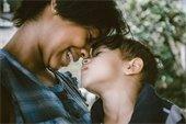 caregiver and son bonding