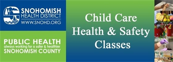 Child Care Health & Safety Classes Logo