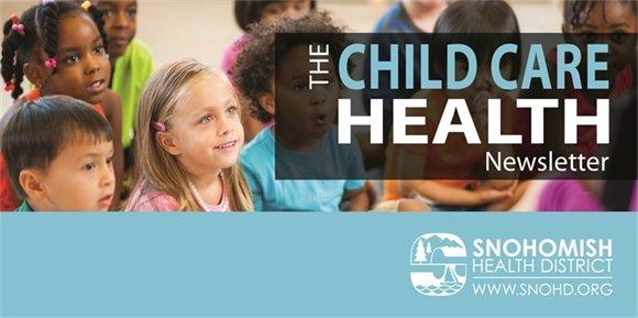 The Child Care Health Newsletter Banner