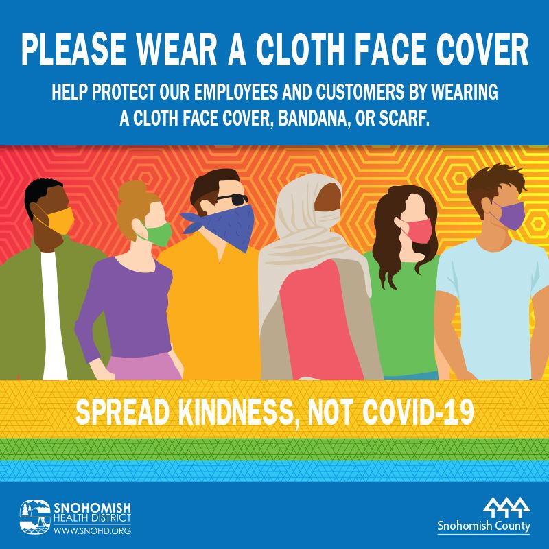 Please Wear a Cloth Face Cover