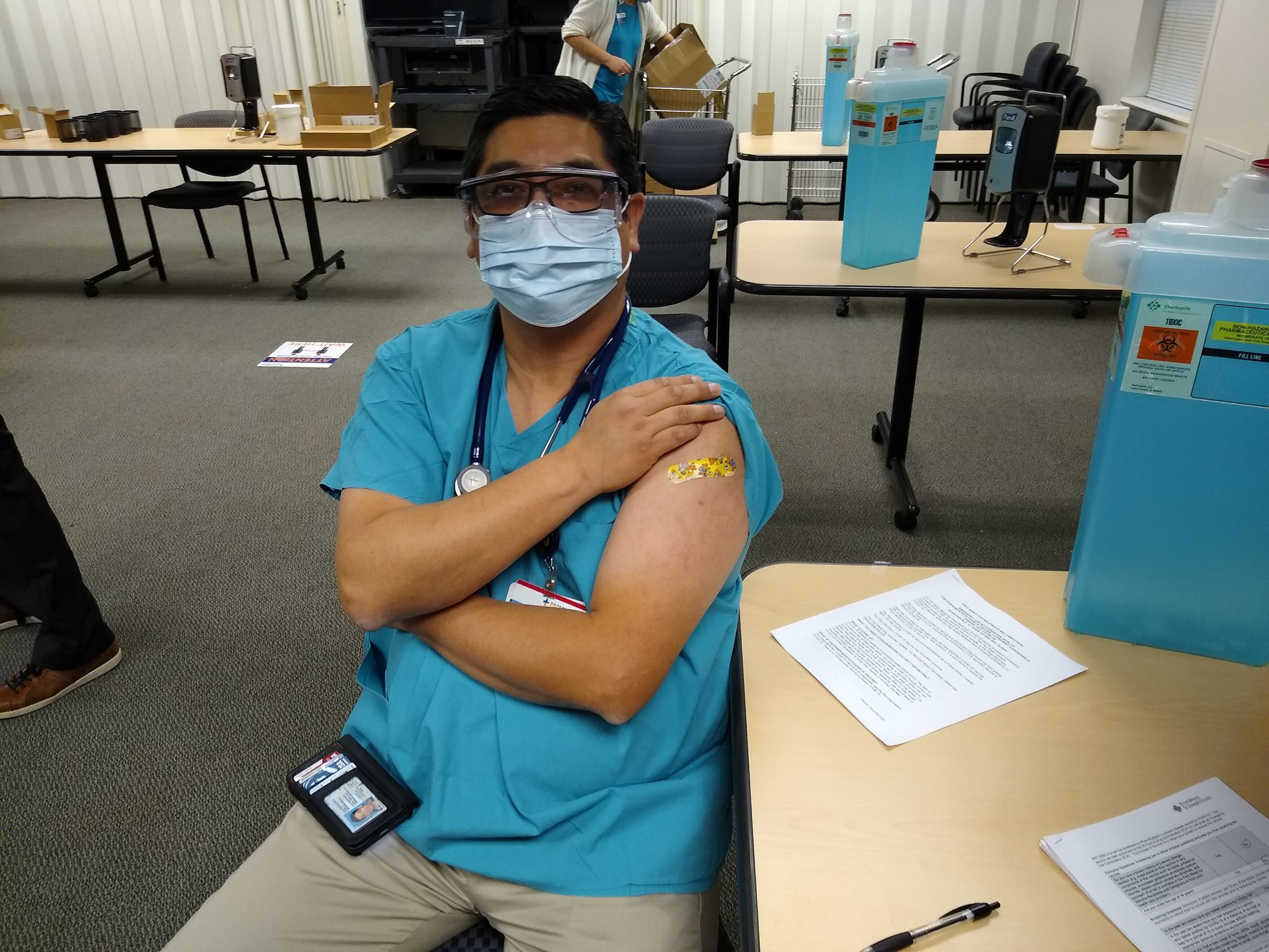 Dr. George Diaz, Section Chief, Infectious Diseases, PRMCE